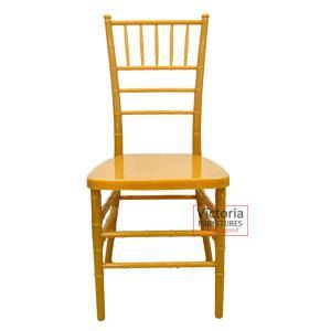 Banquet chair gold