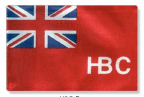 The Hudson's Bay company flag