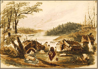 Tsartlip Indians, Sarah Crease October 1860