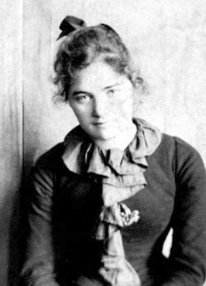 Emily Carr at 21 in 1893