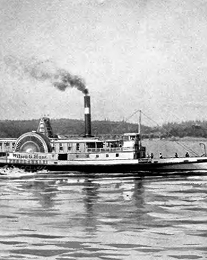 The sidewheeler Wilson_G_Hunt