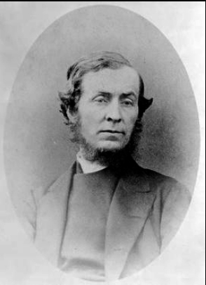 The Reverend Alexander Garrett. Wikimedia