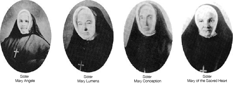The Original Four Sisters of St. Ann