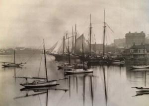 Victoria Yacht Club far right. Victoria Harbour circa 1900 BC Archives G-01111 copy