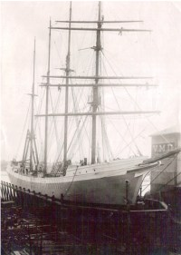 SF Tolmie in Drydock courtesy of the Maritime Museum of BC