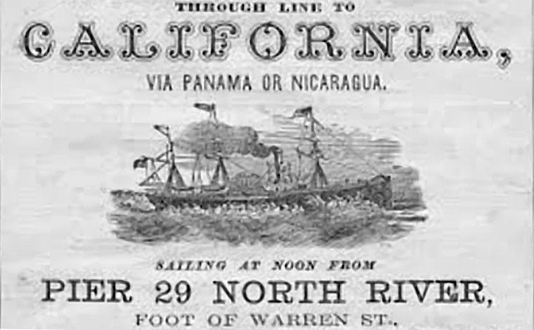 California Steam Navigation Company ad