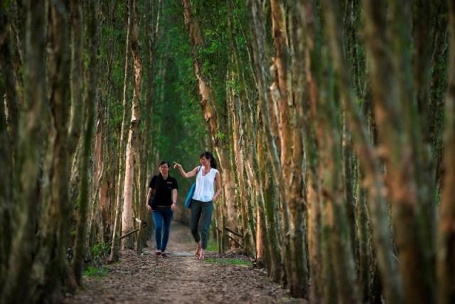 Victoria Chau Doc hotel_Vietnam_Mekong Delta_Tra Su Forest (5)