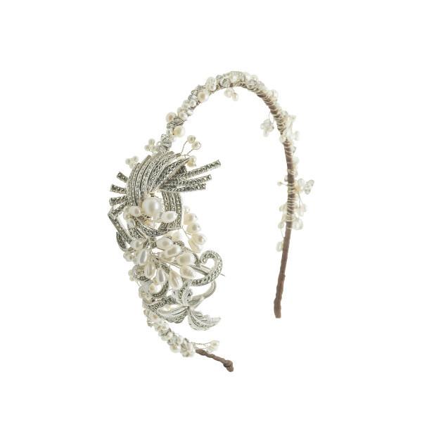 vintage side tiara 1505