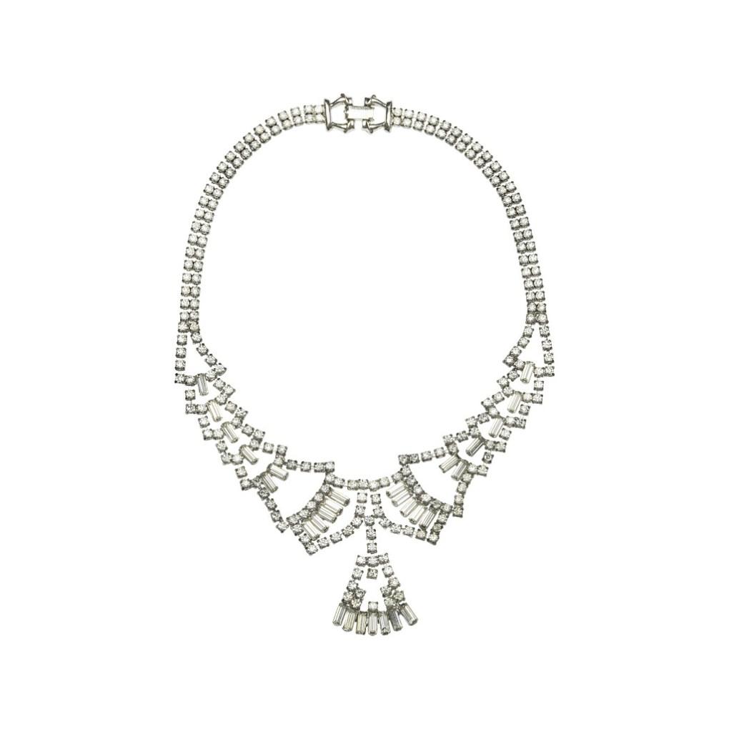 VICTORIA MILLESIME Vintage bridal necklace
