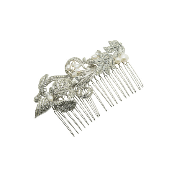 vintage bridal comb no.c16003