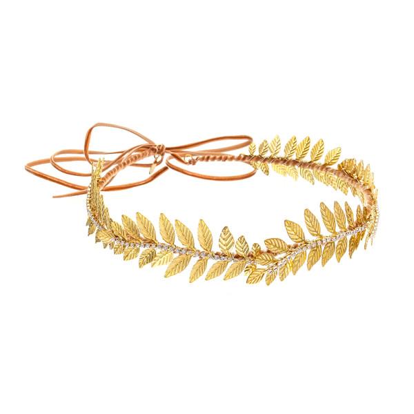 VICTORIA MILLESIME GD-H15-Gold-Dust-Grecian-Crown