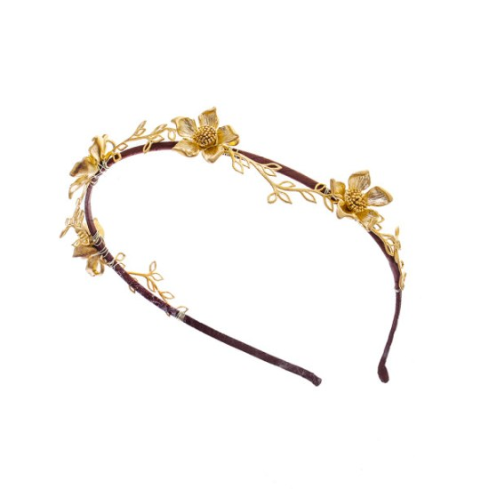 Victoria-Millesime-Gold-Dust-Trailing-Flowers-Headpiece-1
