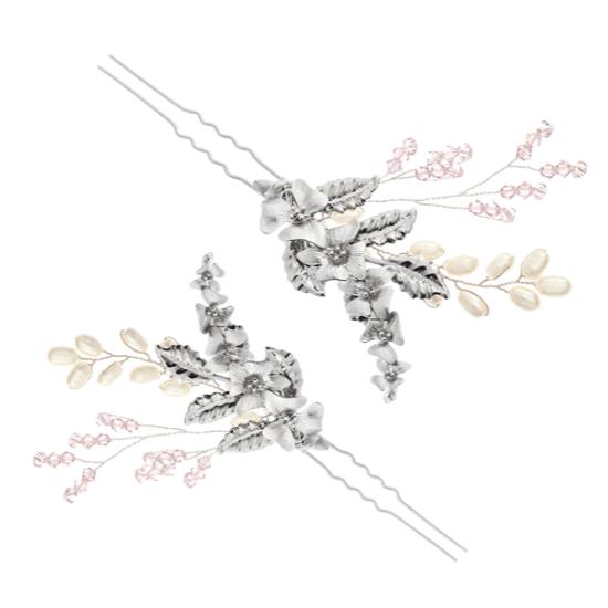 VICTORIA MILLESIME GD-P9-Flower-Queen-Rose-Hairpin-2