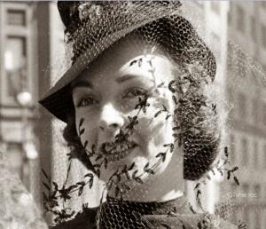 History of 1930s Birdcage Veil
