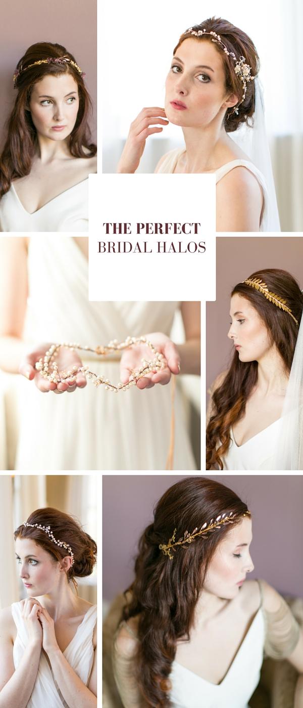 6 Beautiful Bridal Halos // www.victoriamillesime.co.uk