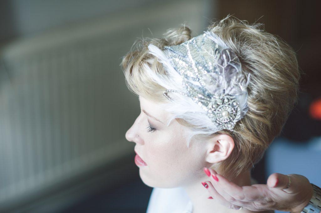 Wedding Hair Accessories for Short Hair , Victoria Millesime