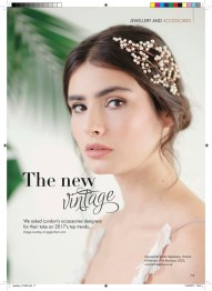Victoria Millesime Bespoke Bridal Hair Accesories Vintage Hand Made London UKYour-London-Wedding-Bridal-Accessories-