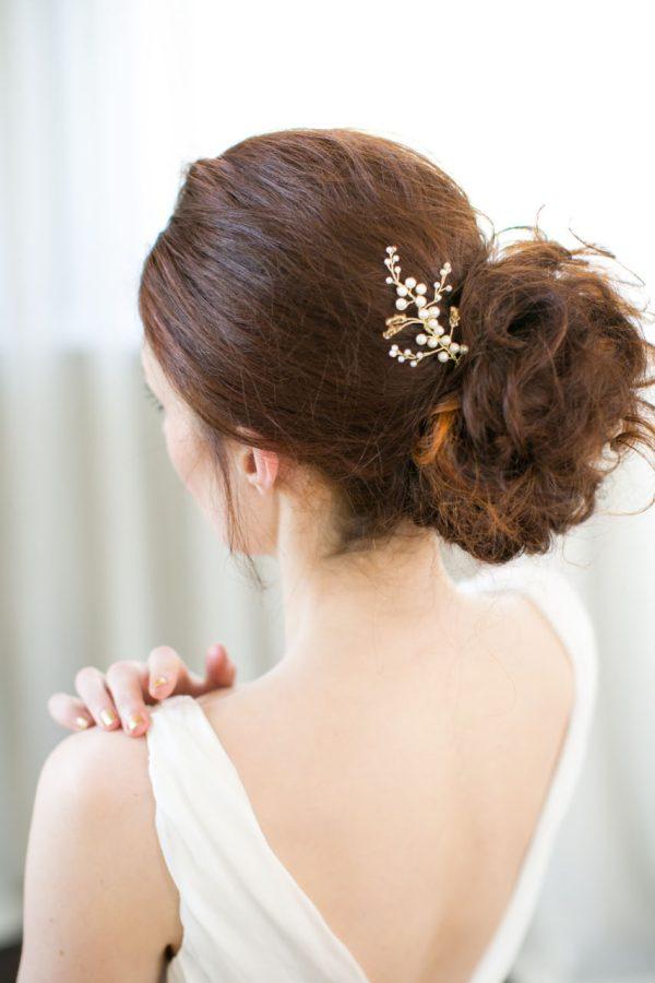 Handmade Pearl Bridal Hair Pin