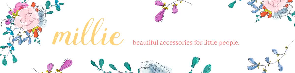 millie flower girl accessories