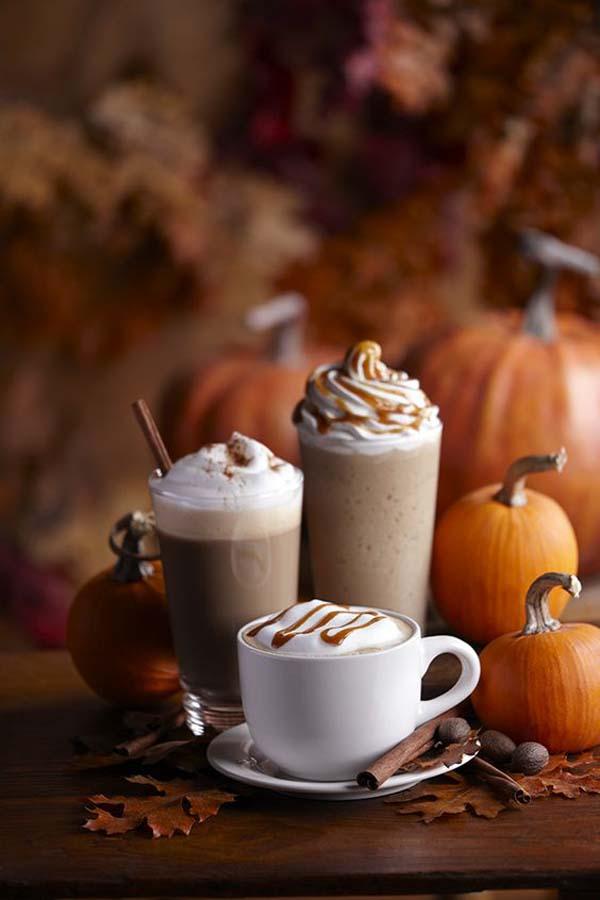 autumn coffee drinks