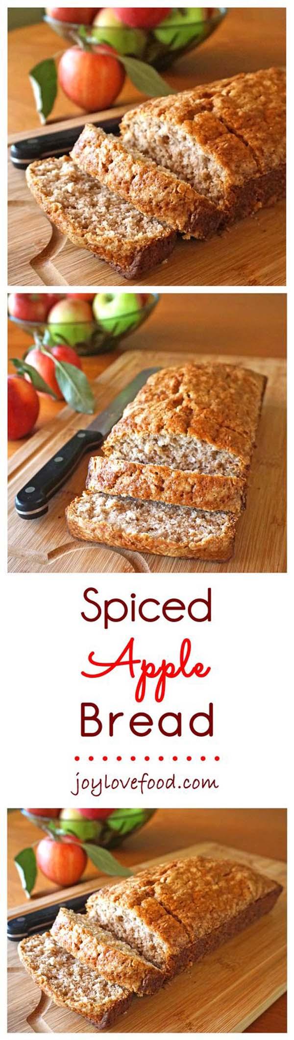 spiced apple bread recipe