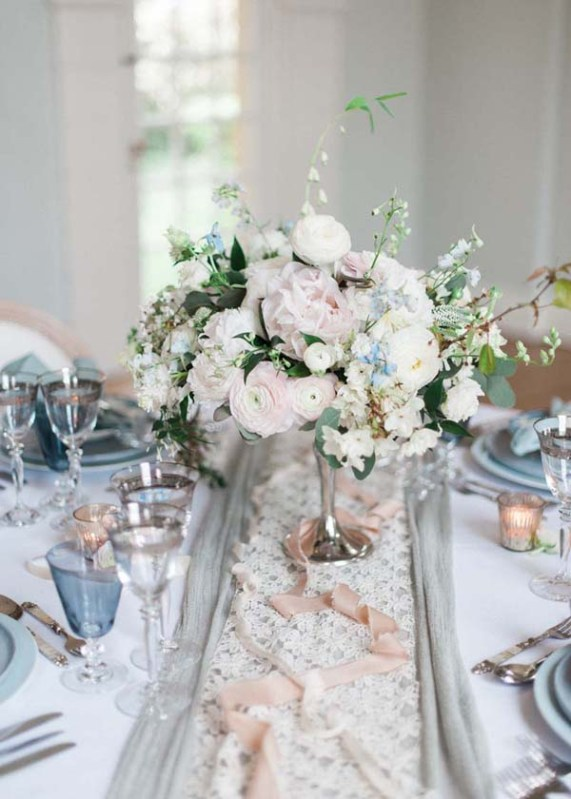 Serenity Blue Wedding Inspiration Shoot
