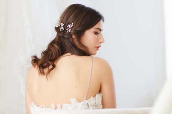 Baby's Breath Bridal Hair Pins