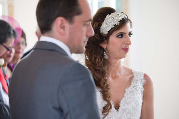 statement bridal headpiece