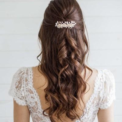 London Wedding Hair Accessories Pearl Hair Comb