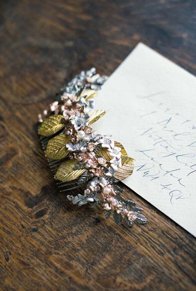 autumn wedding hair accessories