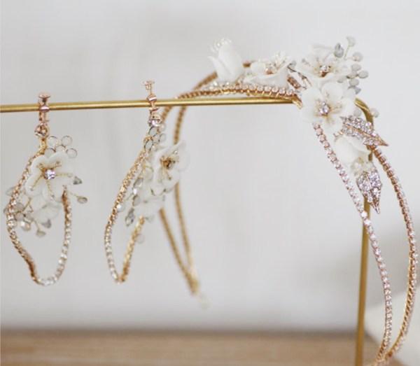 Orchard Wedding Headpiece