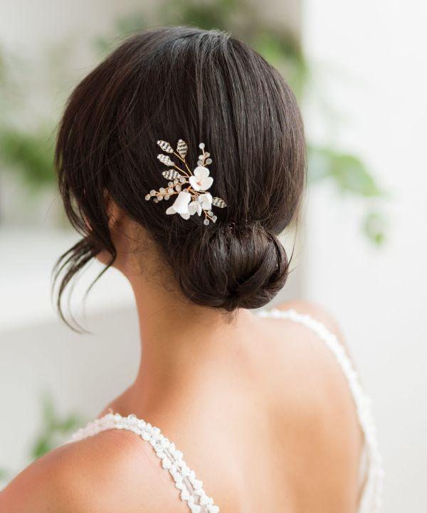 Lotte Wedding Hair Pin Gold