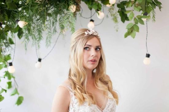 Orchard Gold Boho Wedding Tiara