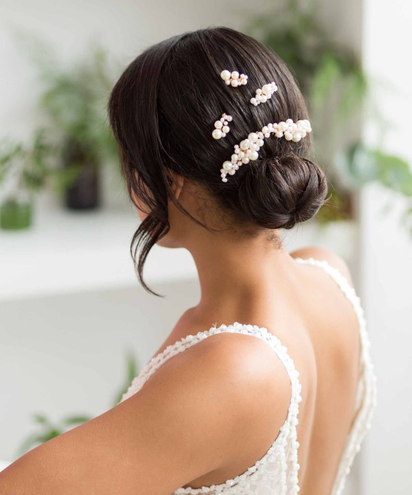 Lorelei Pearl Hair Comb Set