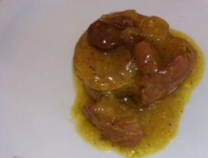 Solomillo curry 2
