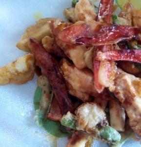 CRUJIENTE DE VERDURAS con tempura casera. Las verduras preparadas así son más atractivas y apetitosas. Una sencilla tempura o rebozado casero y a comer.