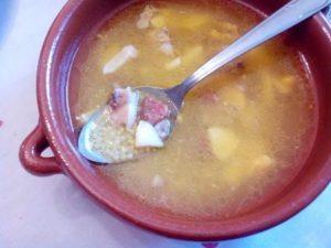 """Sopa cubierta estilo """"Candi""""; otra de las recetas de mi mamá, una gran cocinera."""