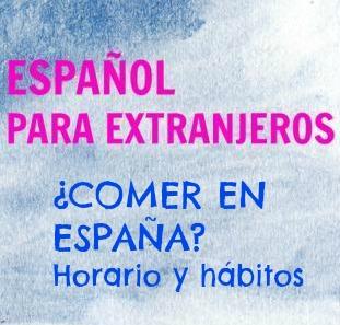 Comer en España. ¿Cuándo comen los españoles? ¿Qué comen? Un texto para conocer los hábitos de comida de España y unos ejercicios para aprender vocabulario.