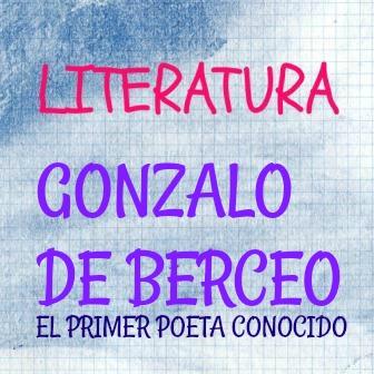 """GONZALO DE BERCEO. El primer poeta conocido. Autor de los Milagros de Nuestra Señora y el primero en escribir en español, en """"román paladino""""."""