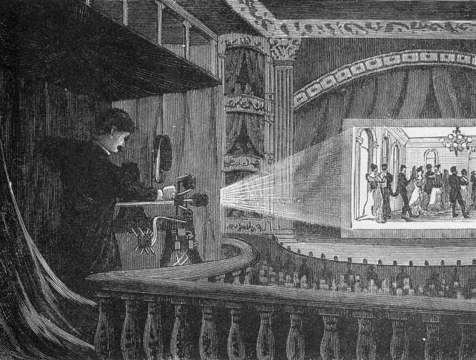 Image result for vitascope projector show