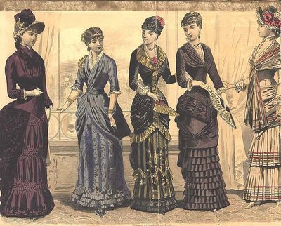 Victorian women's fashion