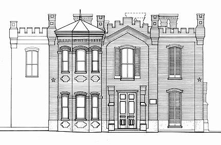 Historic House: The Hammond House