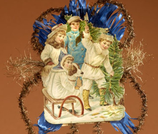 Victorian Christmas Ornament