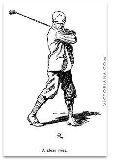 Golf Cartoon AB Frost Golf Cartoons