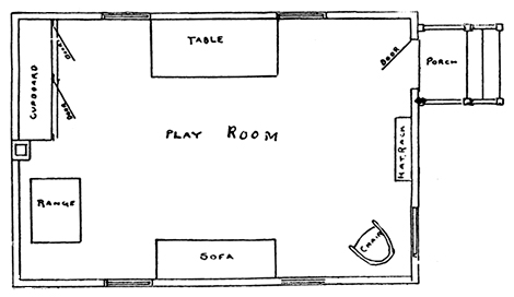 playhouse floor plan