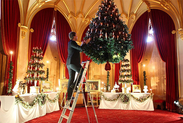 Christmas Season At Windsor Castle