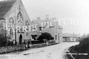 Motcombe, Wesleyan Chapel c1900