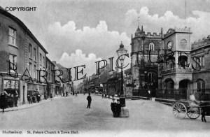 Shaftesbury, High Street c1905