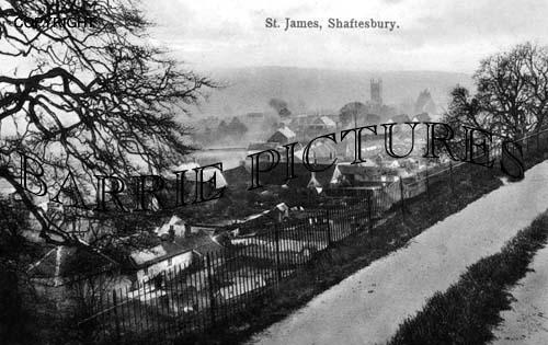 Shaftesbury, St James c1915