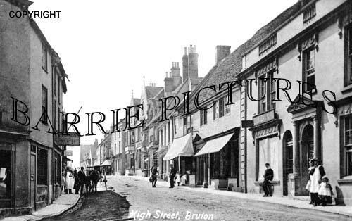 Bruton, High Street c1905